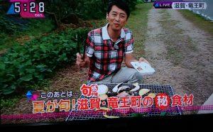 夏が旬!滋賀・竜王のマル秘食材
