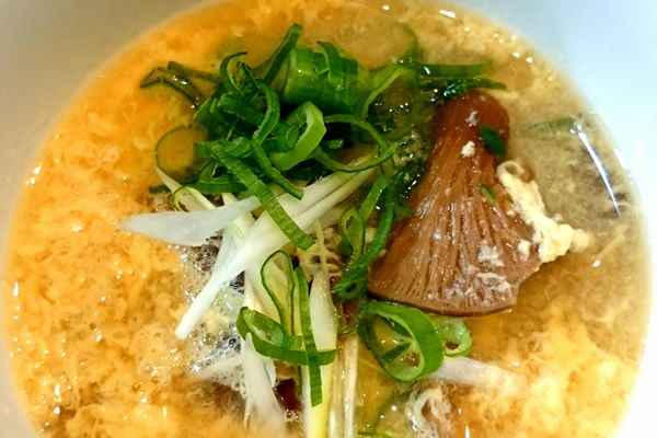 awabidake tamago soup03 - あわび茸の炊き込みご飯の素を使った絶品!あわび茸玉子スープのご紹介