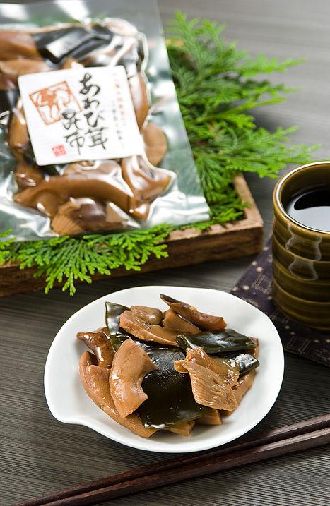 あわび茸の昆布煮(滋賀竜王町産)