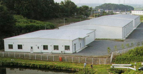 warehouse of TAHEEBO JAPAN,Co,Ltd.(the manufacturer)in Japan